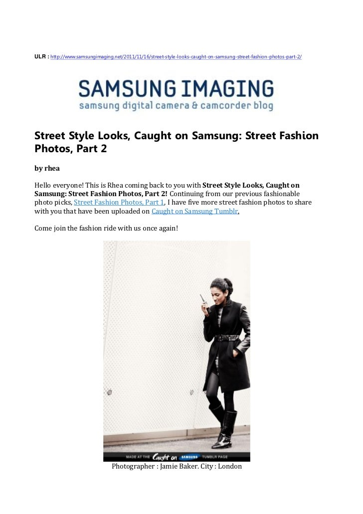 Street style looks, caught on samsung   street fashion photos, part 2