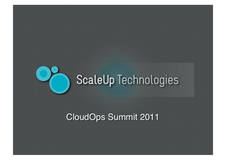 CloudOps Summit 2011!