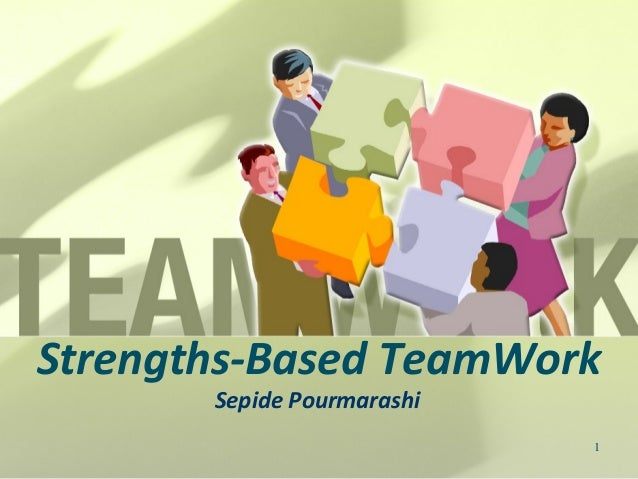 Strenghts based teamwork