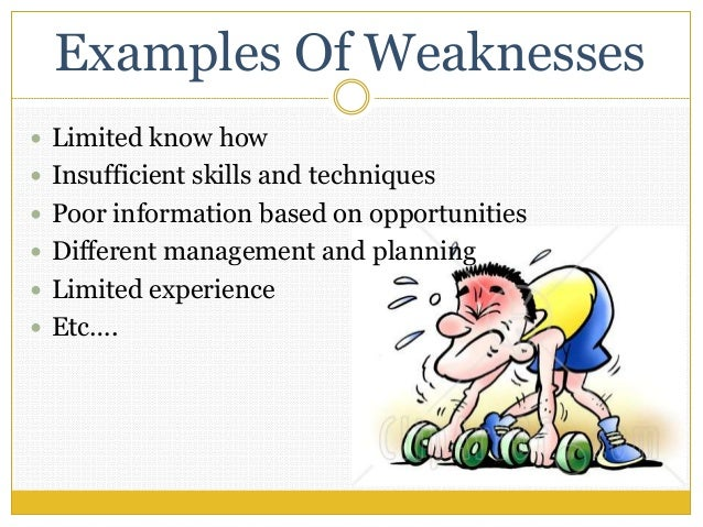 leadership strengths and weaknesses examples