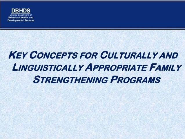 Strengthening Families Webinar Key Concepts in CLC April 2013