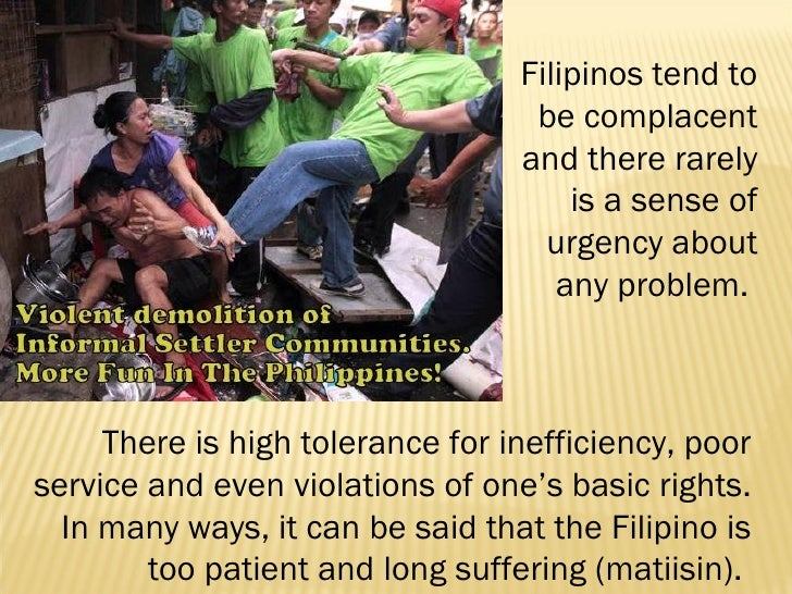 weaknesses of the filipino character If you're not aware of weaknesses at all, you sit floundering, confused at why you're ineffective in life can you map your talents and character strengths.