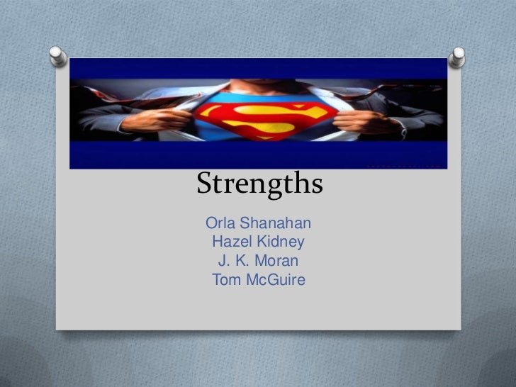 Strengths presentation