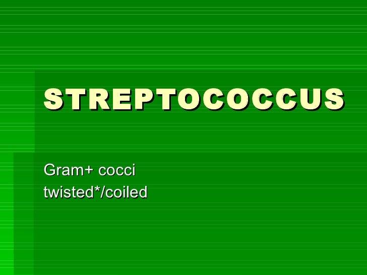 StreptococcusStreptococcus Salivarius Hemolysis