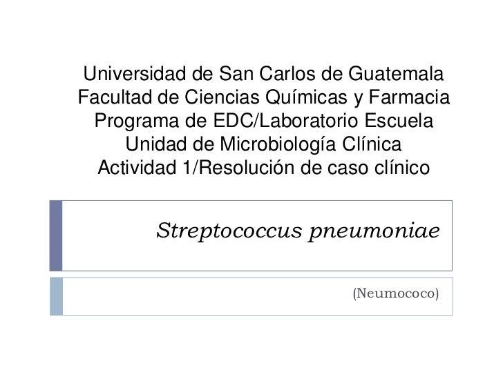 Universidad de San Carlos de GuatemalaFacultad de Ciencias Químicas y Farmacia Programa de EDC/Laboratorio Escuela     Uni...