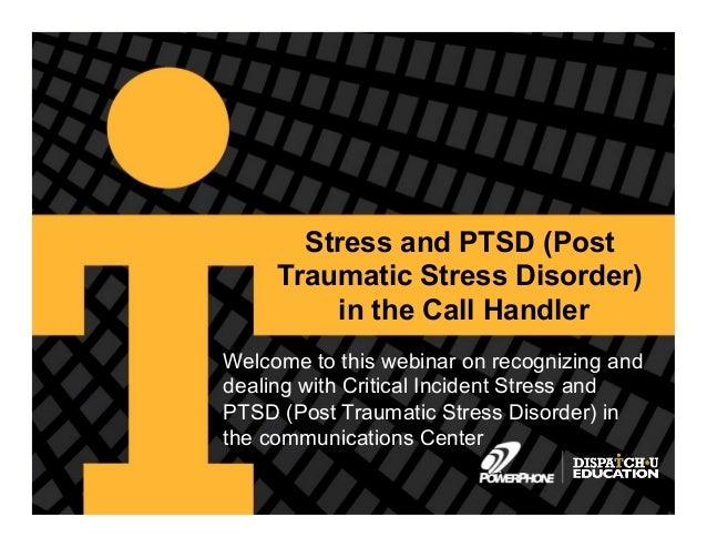 PTSD and the 911 Call Taker: A PowerPhone Webinar