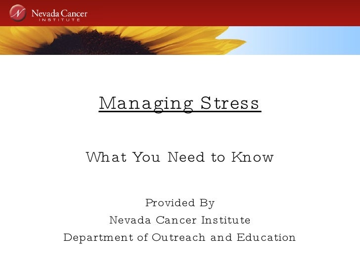 Stress Management Conference