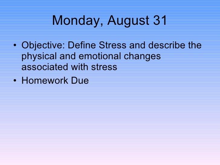 Stress trq