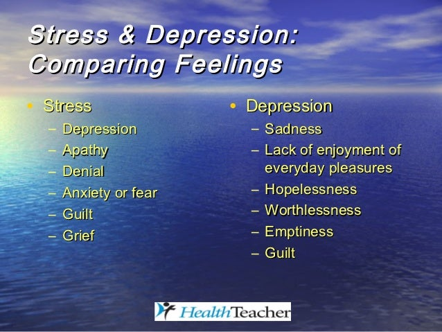 an overview of depression and stress Depression health center  watch this slideshow to get an overview of this disorienting condition  surgical residents prime candidates for stress, depression,.