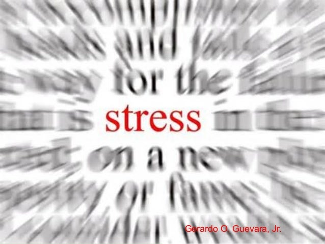 Stress and Frustration by Jerry (Group 2)
