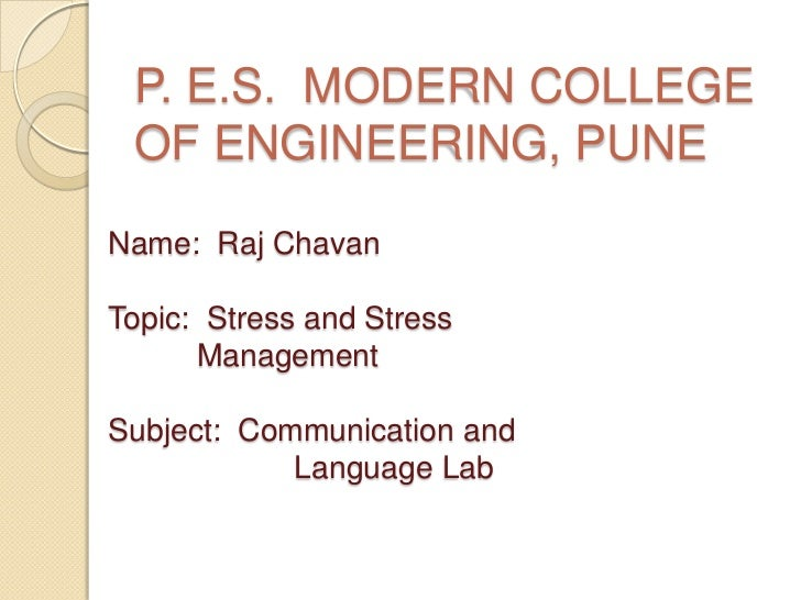 Stress and stress_management_by_raj