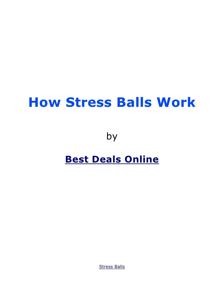 How Stress Balls Work