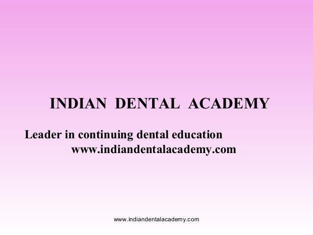Stress breakers  /certified fixed orthodontic courses by Indian dental academy