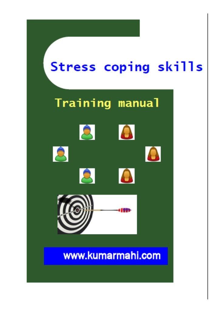 Stress coping skills training module