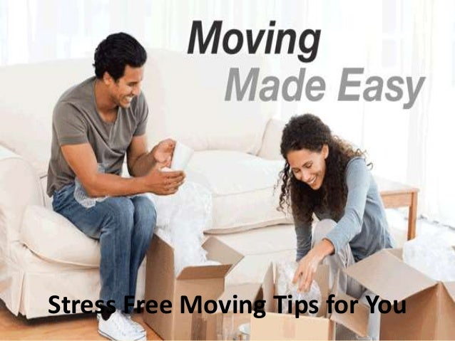 stress free moving