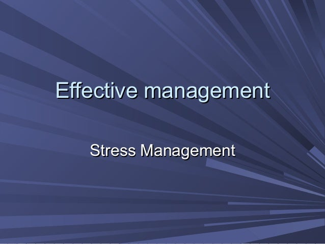 Stressman