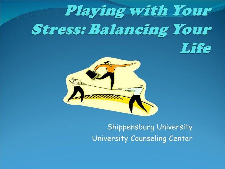 Shippensburg University University Counseling Center