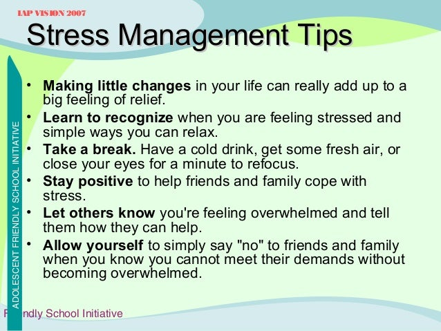 """the biggest stressors in my life and how i coped up and managed stress The study found that having a lot of stress in your life was not linked with  and  how to get good at it"""" """"the best way to manage stress isn't to reduce or  you  can be prepared, rather than blindsided, by the stressors ahead of you 2  rehearsal: while you can't rehearse for life's biggest moments, you can live your  life in a."""