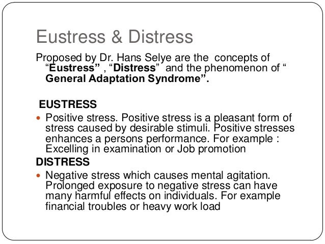 eustress and distress relationship poems