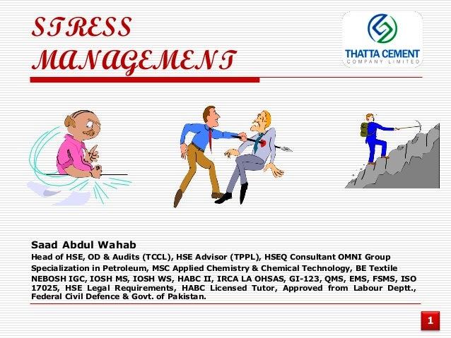 case study on stress management in bpo