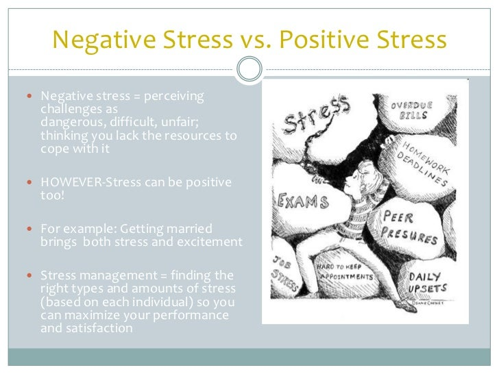positive thinking and stress management