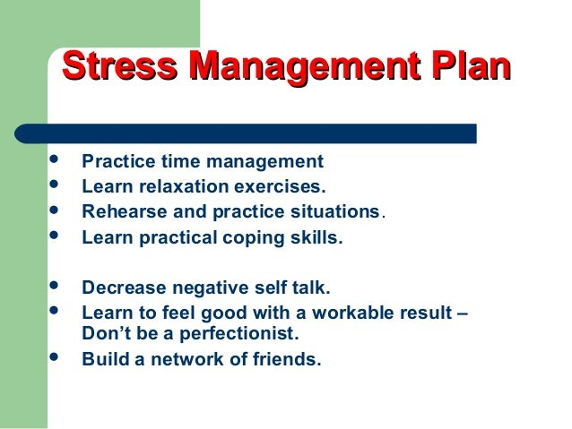 essays stress management technique Stress management essays once an organization establishes itself as a profit seeking company, its primary objective is clear: maximize profits and minimize costs.