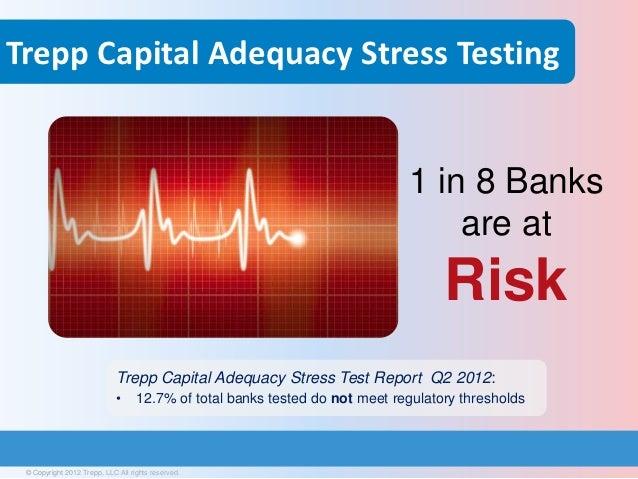 Trepp Capital Adequacy Stress Testing                                                                             1 in 8 B...