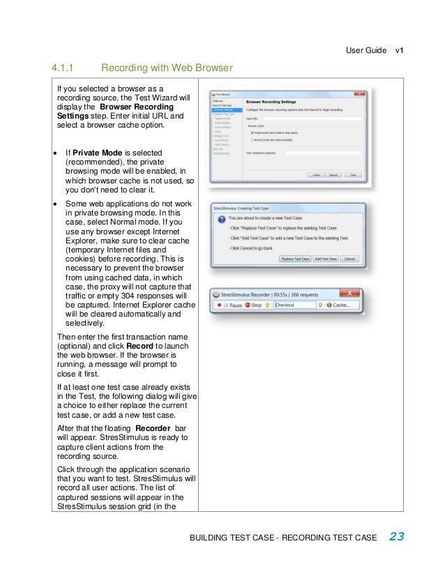 StresStimulus Load Testing Tool User Guide