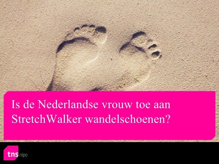TNS NIPO onderzoek 'ontspannen voeten' in opdracht van StretchWalker