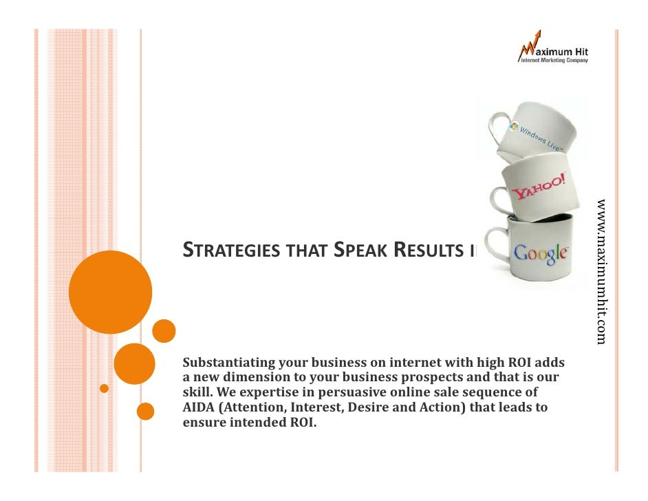 Strategies That Speak Result
