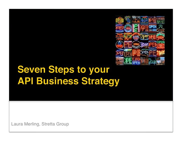 The Business of APIs 2009 - Stretta Group