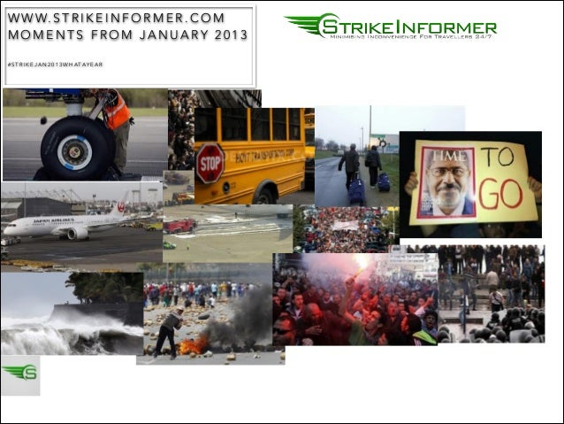 STRIKE ACTION HIGHLIGHTS 2013 THE YEAR THAT WAS