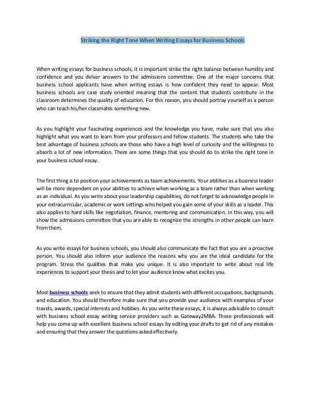 tone and style of an essay This handout provides overviews and examples of how to use tone in business writing prepare your style of reading to match the reading abilities of your audience.