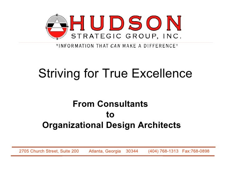 Striving for True Excellence