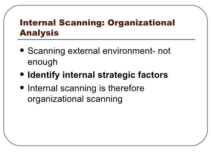 Str Mgt Lesson 4 Internal Scanning Scanning