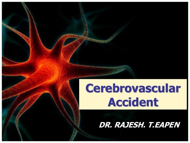 cerebrovascular accident The not cardiogenic cerebrovascular accident results from calcified atheromas formations due to atherosclerosis involving carotid artery.