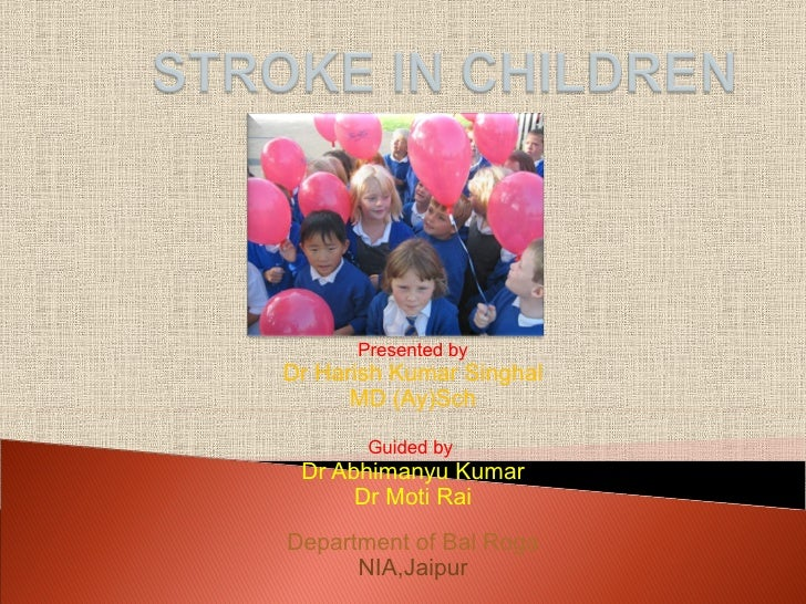 Stroke In Children