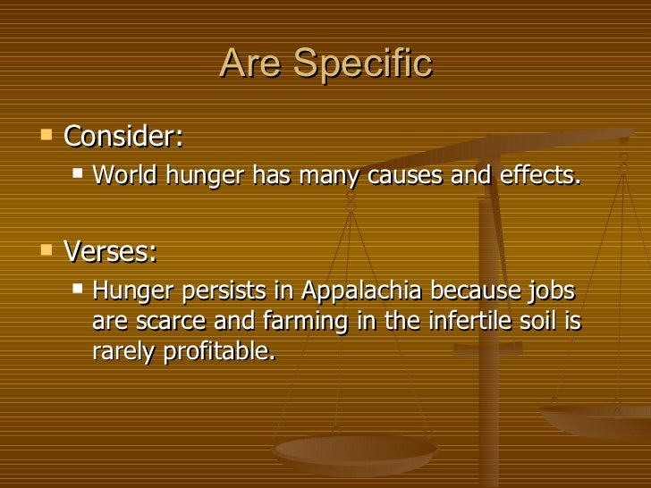 thesis statement for world hunger essay Thesis of poverty free essays - studymodethesis of povertybibliography thesis statement: thesis statement = topic + debatable point of view millions of people suffer from hunger, what are some thesis statements on poverty.
