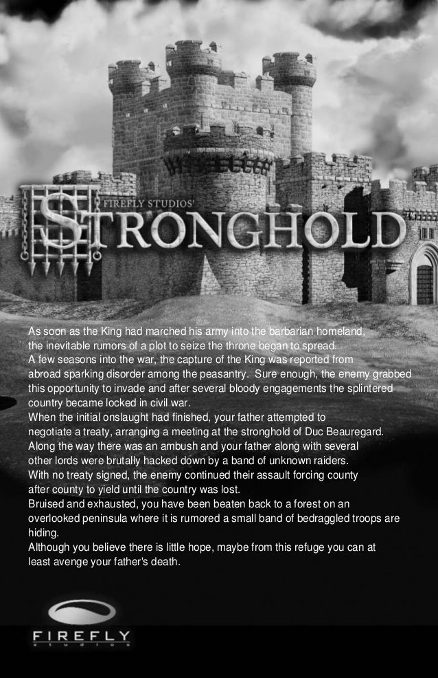 Stronghold manual