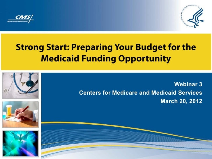 Webinar: Strong Start Medicaid Funding Opportunity