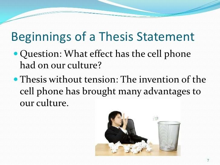 describe cell phone essay