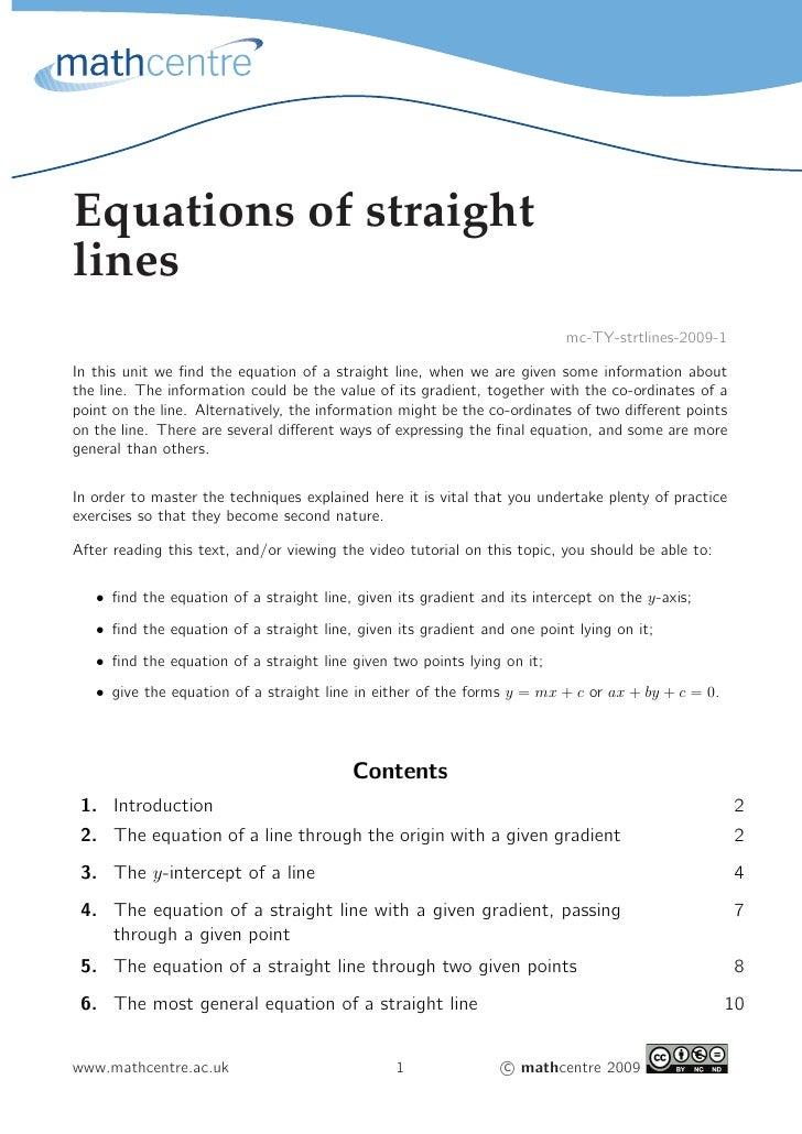 Equations of straightlines                                                                          mc-TY-strtlines-2009-1...