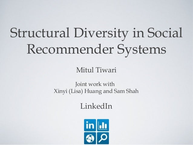 Structural Diversity in Social Recommender Systems