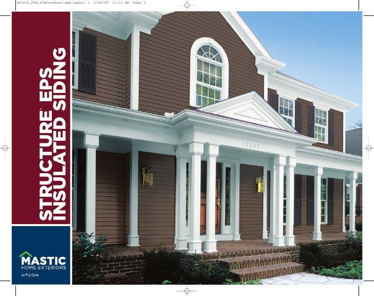 ®   STRUCTURE EPS INSULATED SIDING