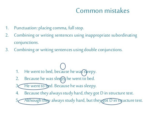Alfa img - Showing > Sentences with Subordinating Conjunctions