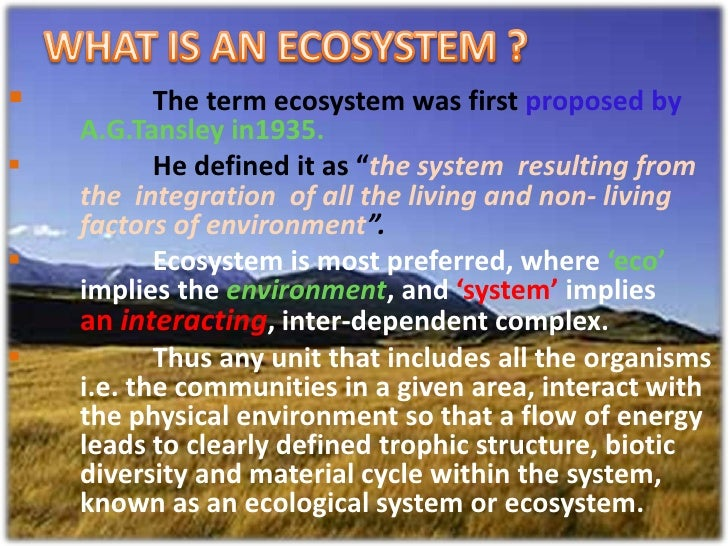 ecosystem is dependent on succession essay Essay on the important types of succession established in an ecosystem  the first organisms to become established in an ecosystem undergoing succession are known as pioneers the stable community that ends the succession is termed the climax community the whole series of communities which are .