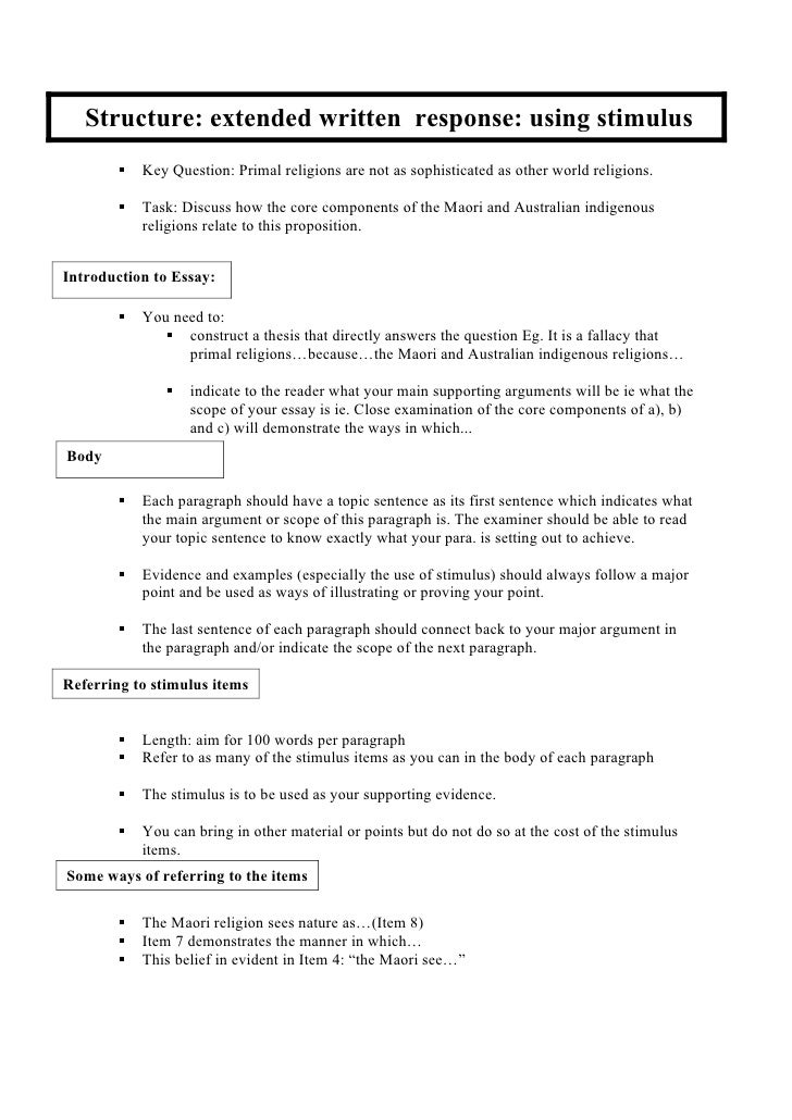 structure of a history extended essay The essay shows effective and sophisticated application extended essay scoring rubric 4 structure a reasoned argument in response to the research question.