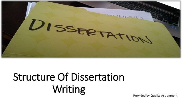 Write my ma dissertation structure