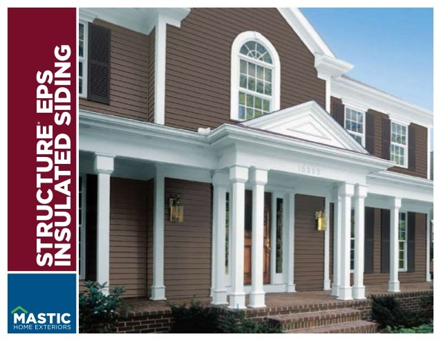 ®STRUCTURE EPSINSULATED SIDING