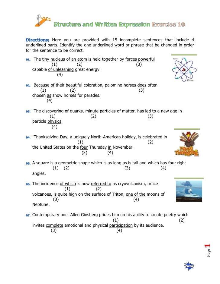 Structure Practice 10